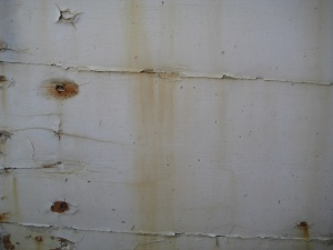 Background (peeling and stained paint, Mystic Seaport, CT) (Photo: Alan Liu)
