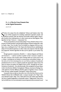 """N + 1: A Plea for Cross-Domain Data in the Digital Humanities"""