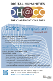 Poster for DH@CC Spring Symposium, 2015