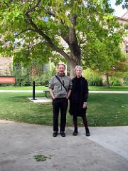 Alan Liu and Lyn Hejinian