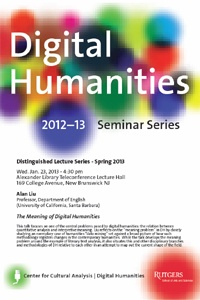 Poster for Alan's talk at Rutgers U., 2013
