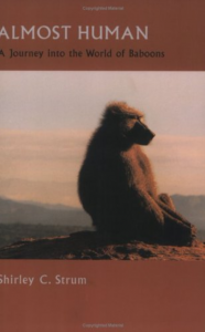 Shirley C. Strum, Almost Human: A Journey into the World of Baboons (2001) (first published 1987)