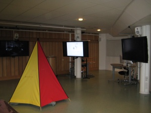 HUMlab, Umea University, Sweden (multi-screen room)