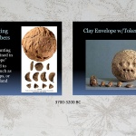 Origins of writing -- Clay tokens and envelopes