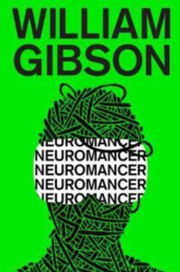 Cover of William Gibson's Neuromancer (green)